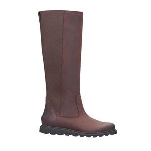 SOREL Brown Red Ainsley Tall Boot 7 NWOT
